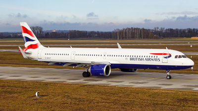 G-NEOT - Airbus A321-251NX - British Airways