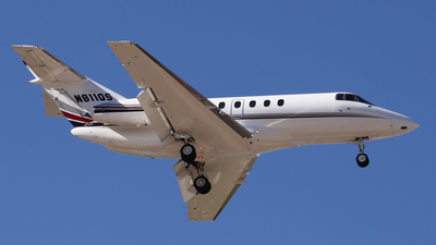 N811QS - Raytheon Hawker 800XP - Private
