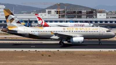 A6-EII - Airbus A320-232 - Etihad Airways