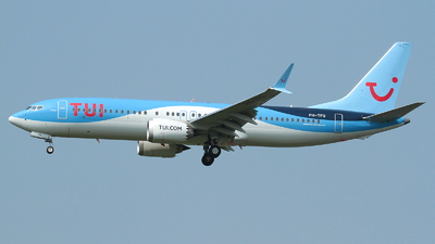 A picture of PHTFO - Boeing 737 MAX 8 - TUI fly - © R. Eikelenboom