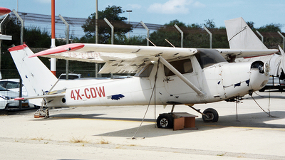 4X-CDW - Cessna 152 - Private