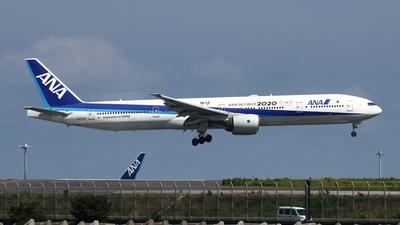 JA757A - Boeing 777-381 - All Nippon Airways (ANA)