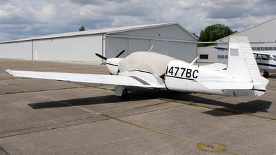 N477BC - Mooney M20M - Private