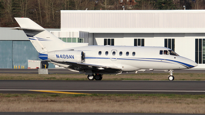 N409AV - Raytheon Hawker 800XP - Avjet