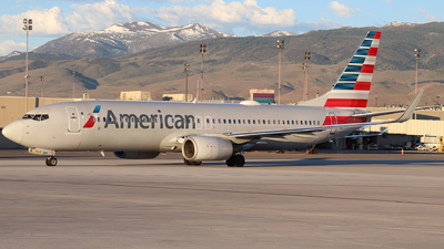 A picture of N973AN - Boeing 737823 - American Airlines - © Nate Morin