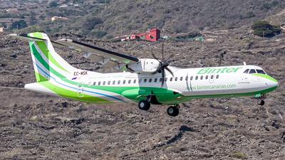 A picture of ECMSK - ATR 72600 - Binter Canarias - © Photography  Jc  la Palma