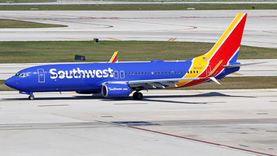 A picture of N8323C - Boeing 7378H4 - Southwest Airlines - © Brian T Richards