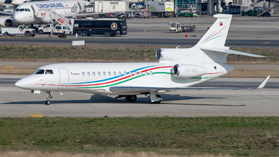 TC-OIL - Dassault Falcon 7X - Palmali Air