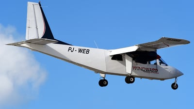 PJ-WEB - Britten-Norman BN-2B-20 Islander - Windward Express Airways
