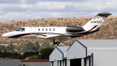 N347CZ - Cessna 525 Citationjet CJ4 - Textron Aviation