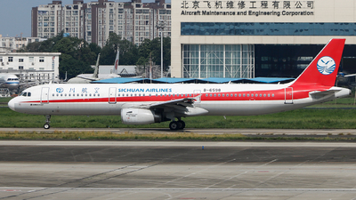 A picture of B6598 - Airbus A321231 - Sichuan Airlines - © C·Dragon