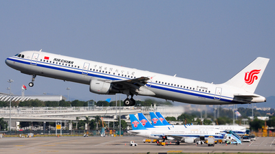 B-6556 - Airbus A321-213 - Air China