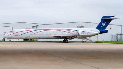 N986AK - McDonnell Douglas MD-87 - Private