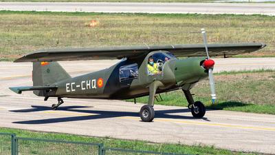 EC-CHQ - Dornier Do-27 - Fundació Parc Aeronàutic de Catalunya (FPAC)