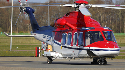 PH-EUA - Agusta-Westland AW-139 - CHC Helicopters