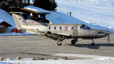 LX-JFI - Pilatus PC-12/45 - Jetfly Aviation