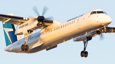 A picture of CGWEJ - De Havilland Canada Dash 8400 - WestJet - © Galen Burrows