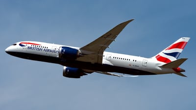 G-ZBJH - Boeing 787-8 Dreamliner - British Airways