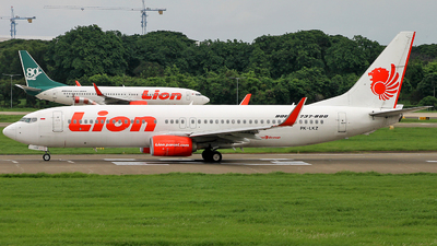PK-LKZ - Boeing 737-8GP - Lion Air
