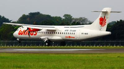 PK-WHR - ATR 72-212A(600) - Wings Air