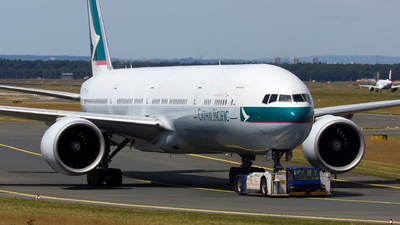 B-KPO - Boeing 777-367ER - Cathay Pacific Airways