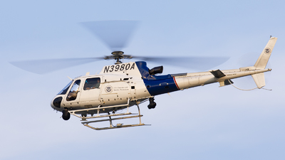 N3980A - Eurocopter AS 350B3 Ecureuil - United States - US Customs Service