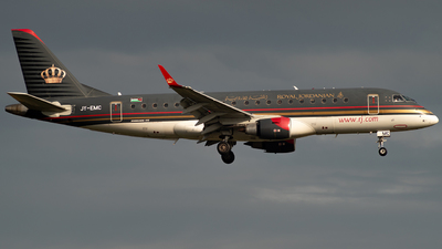 JY-EMC - Embraer 170-200LR - Royal Jordanian