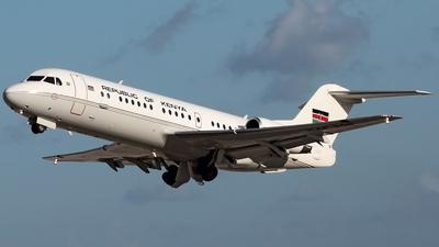 KAF308 - Fokker 70 - Kenya - Government