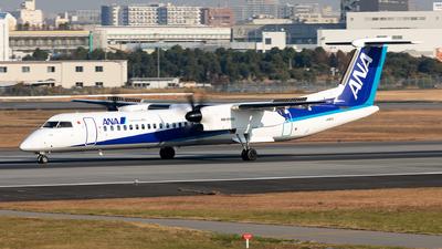A picture of JA857A - De Havilland Canada Dash 8400 - All Nippon Airways - © Sebastian Sowa