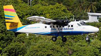 VQ-TJP - De Havilland Canada DHC-6-300 Twin Otter - interCaribbean Airways