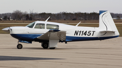 N1145T - Mooney M20J - Private