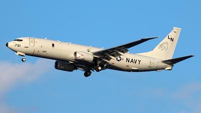 168761 - Boeing P-8A Poseidon - United States - US Navy (USN)