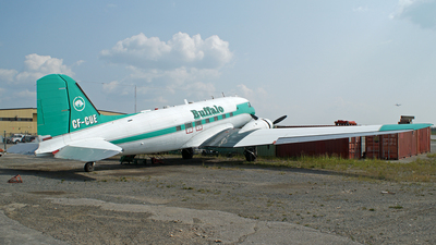 CF-CUE - Douglas DC-3A - Buffalo Airways