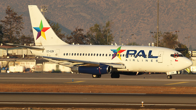 CC-CZK - Boeing 737-236(Adv) - PAL - Principal Airlines