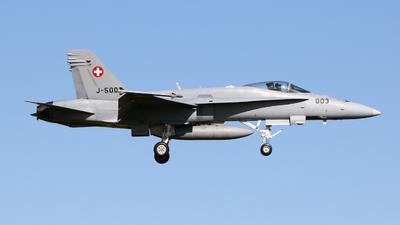 J-5003 - McDonnell Douglas F/A-18C Hornet - Switzerland - Air Force