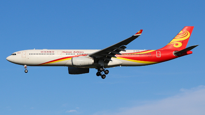 A picture of B8015 - Airbus A330343 - Hainan Airlines - © Jerry.H