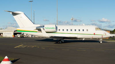 N604AU - Bombardier CL-600-2B16 Challenger 604 - Private