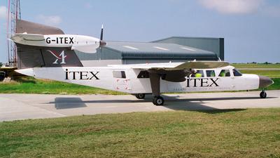 G-ITEX - Britten-Norman BN-2A Mk.III-2 Trislander - Aurigny Air Services