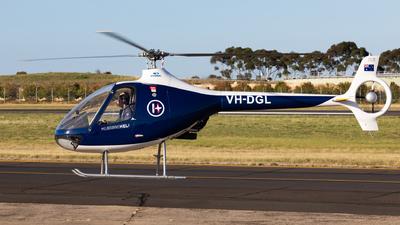 VH-DGL - Guimbal Cabri G2 - Melbourne Heli