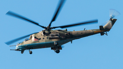 RF-13664 - Mil Mi-35M Hind - Russia - Air Force