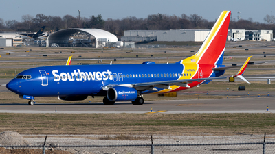 A picture of N8520Q - Boeing 7378H4 - Southwest Airlines - © Michael Place
