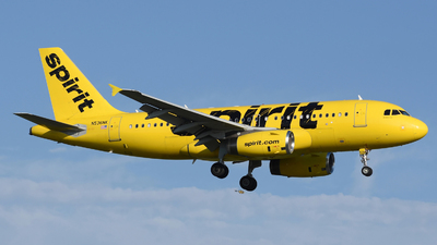 A picture of N536NK - Airbus A319133 - Spirit Airlines - © DJ Reed - OPShots Photo Team