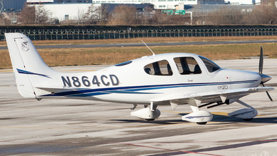 A picture of N864CD - Cirrus SR20 - [1221] - © Leonardo Largher
