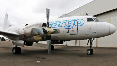 VH-PDW - Convair CV-580 - Pionair