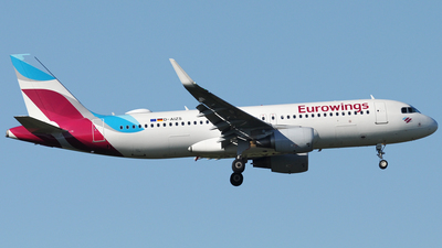D-AIZS - Airbus A320-214 - Eurowings