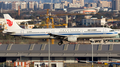 B-6599 - Airbus A321-213 - Air China