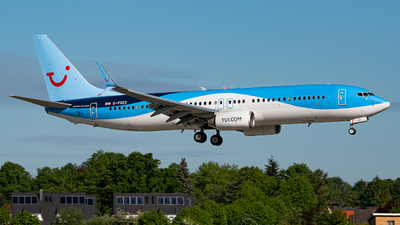 A picture of GFDZX - Boeing 7378K5 - TUI fly - © Niclas Rebbelmund