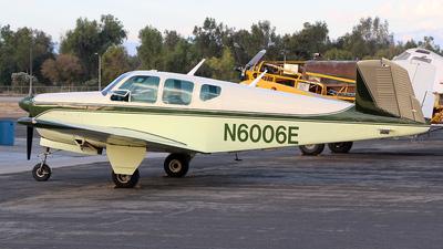 N6006E - Beechcraft K35 Bonanza - Private