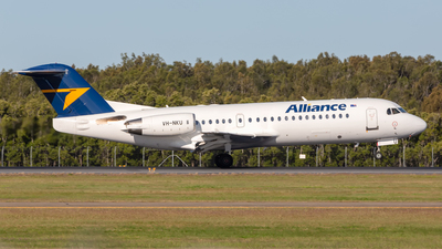 VH-NKU - Fokker 70 - Alliance Airlines