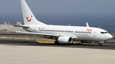 D-AHXF - Boeing 737-7K5 - TUI